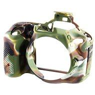 Easy Cover Reflex Silic pro Nikon D5 kamuflážní
