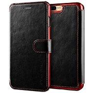 Verus Dandy Layered Leather Case pro iPhone 7/8 Plus černo-vínové