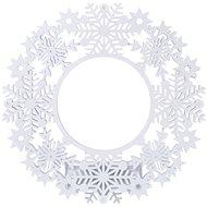 EMOS LED dekorace - věnec, 2xAA, IP20, teplá bílá, časovač