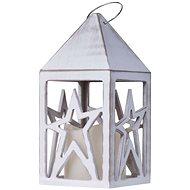 EMOS LED dekorace - lucerna s hvězdou 3xAAA teplá bílá, časovač