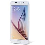 Epico Twiggy Matt pro Samsung Galaxy S6 - bílý transparentní