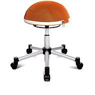 TOPSTAR Sitness Half Ball oranžová