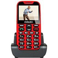 EVOLVEO EasyPhone XD červeno-stříbrný