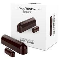 Fibaro Senzor na okna a dveře 2 hnědý