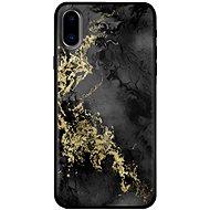 Bling My Thing Treasure Onyx/Hematite Skull pro iPhone X