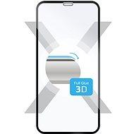 FIXED 3D Full-Cover pro Apple iPhone X přes celý displej černé