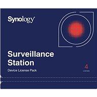 Synology NAS 4 licence pro další IP kamery do Surveillance Station