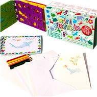 Kreslicí šablony s pastelkami - mini box