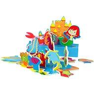 Sada pěnových hraček do vany - Mořská panna