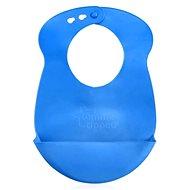 Plastový bryndáček Explora - modrý