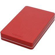 """Toshiba CANVIO ALU 2.5"""" 1000GB červený"""