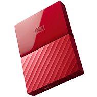 """WD 2.5"""" My Passport 1TB červený"""