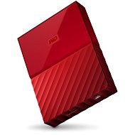 """WD 2.5"""" My Passport 2TB červený"""