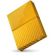 """WD 2.5"""" My Passport 4TB žlutý"""