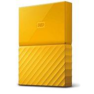 "WD 2.5"" My Passport 2TB žlutý slim"
