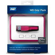 WD Grip Pack 2/3/4TB Fuschia, růžový