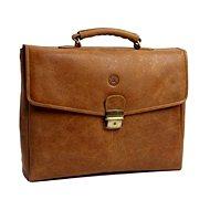 """dbramante1928 Briefcase do 16"""" Golden brown"""