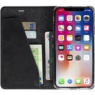 Krusell SUNNE 4 CARD Foliocase pro Apple iPhone X, černá
