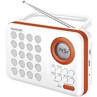 Sencor SRD 220 WOR bílo-oranžové