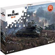 World of Tanks puzzle - Na číhané