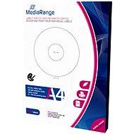 MediaRange CD/DVD/Blu-ray etikety 41mm - 118mm bílé