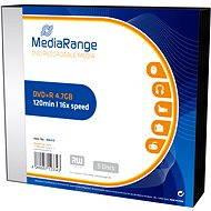 MediaRange DVD+R 5ks v SLIM krabičce