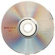 Verbatim DVD-RAM 3x, 3ks v SLIM krabičce