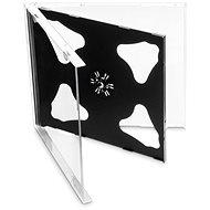 Krabička na 2ks - černá, 10mm, 10ks/bal