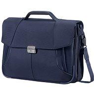 "Samsonite XBR Briefcase 2 Gussets 15.6"" modrá"