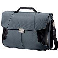 "Samsonite XBR Briefcase 2 Gussets 15.6"" šedá"