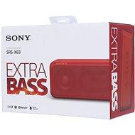 Sony SRS-XB3 červená