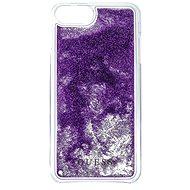 Guess Liquid Glitter Triangle Purple