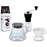 Hario mlýnek + Hario Dripper + káva Intenso