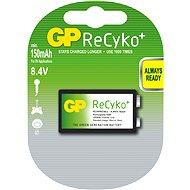 GP ReCyko+ 9V, 150mAh, Ni-MH, 1 ks