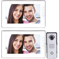 Souprava videotelefonu s pamětí EMOS H1019 s přídavným monitorem H1119