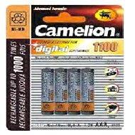Camelion AAA mikrotužkové NiMH 1100mAh 4 ks