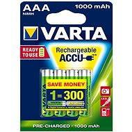 VARTA Professional Accu, AAA tužkové NiMH 1000mAh, 4 ks