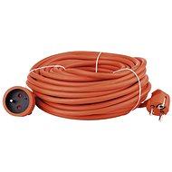Emos Prodlužovací kabel 20m, oranžový