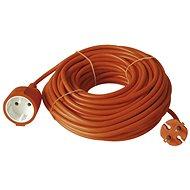 Emos Prodlužovací dvoužílový kabel  20m, oranžový