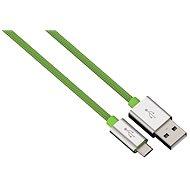 Hama Color Line USB A - USB micro B, 1m, zelený