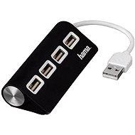 Hama USB 2.0 4 port černý