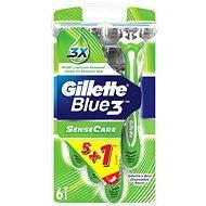 Gillette Blue3 Sensitive 5+1 ks