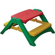 Skládací stoleček s lavicemi