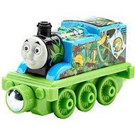Mattel Mašinka Tomáš - malá kovová mašinka Jungle adventure thomas