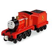 Mattel Fisher Price - kovové mašinky James