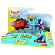 Mattel Fisher Price - Natahovací kovové mašinky Thomas