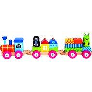 Vlak s domečky - Krteček