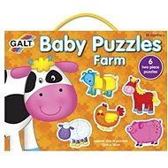 GALT Puzzle pro nejmenší – Zvířátka na farmě