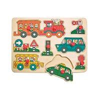 Woody Puzzle na desce - Doprava