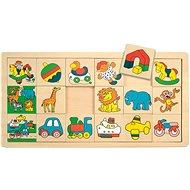 Woody Puzzle na desce - Žirafa Suzie